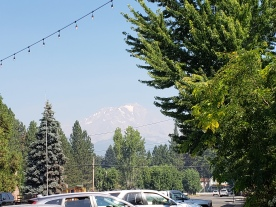 Mt. Shasta Barely Visible